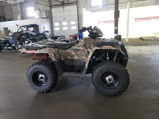 Upcoming salvage motorcycles for sale at auction: 2017 Polaris Sportsman