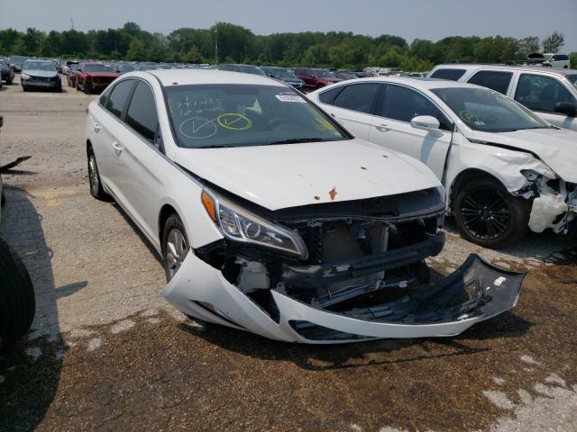 Salvage cars for sale at Bridgeton, MO auction: 2015 Hyundai Sonata ECO