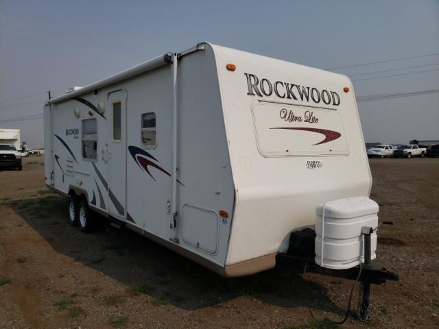 Rockwood salvage cars for sale: 2008 Rockwood Travel Trailer