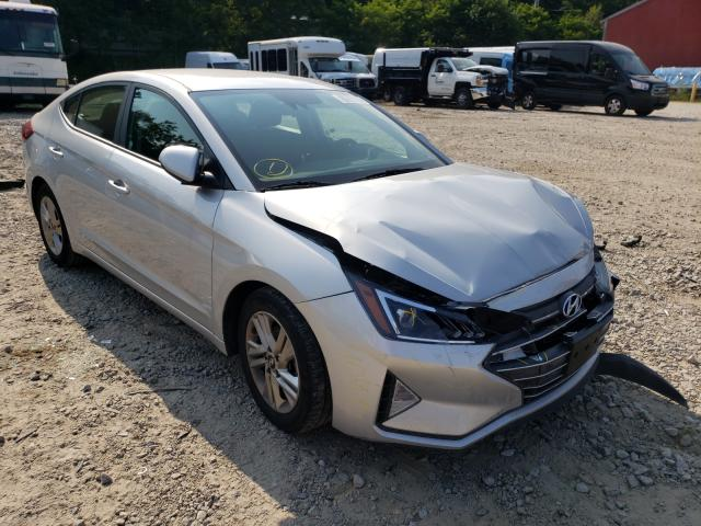 Salvage cars for sale from Copart Mendon, MA: 2019 Hyundai Elantra SE