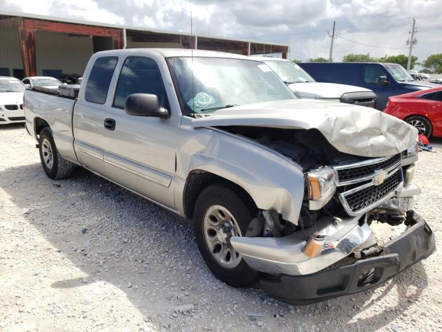 Salvage cars for sale from Copart Homestead, FL: 2006 Chevrolet Silverado