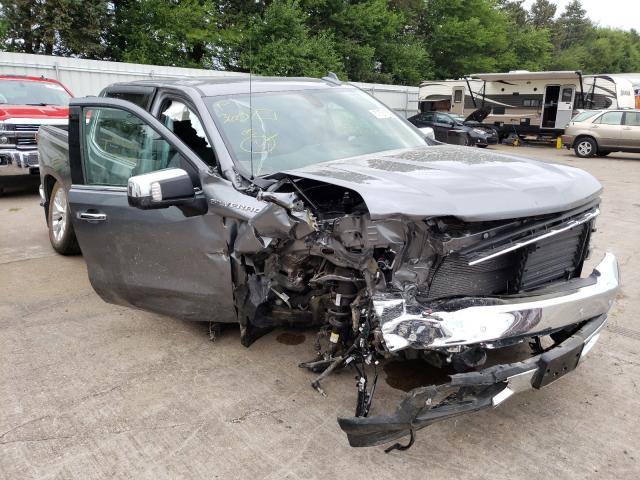 Vehiculos salvage en venta de Copart Eldridge, IA: 2021 Chevrolet Silverado