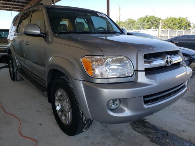 Vehiculos salvage en venta de Copart Homestead, FL: 2005 Toyota Sequoia SR