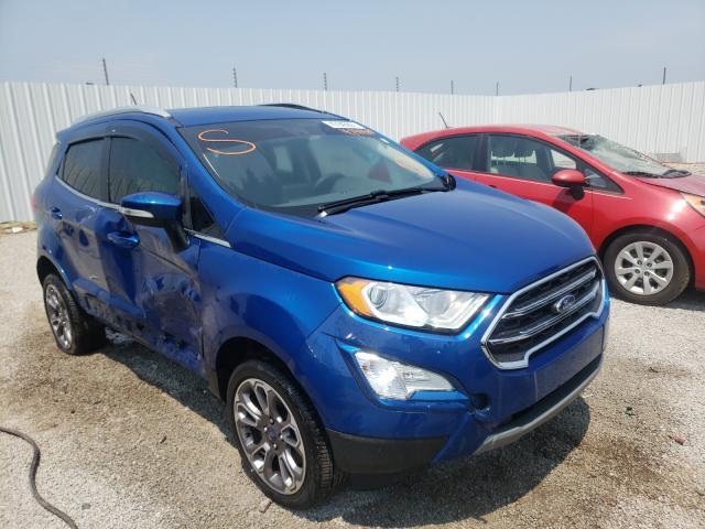 Vehiculos salvage en venta de Copart Louisville, KY: 2020 Ford Ecosport T