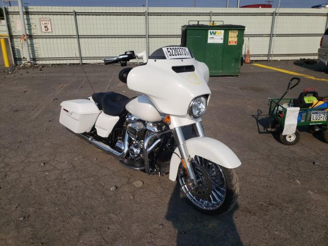 Salvage motorcycles for sale at Pennsburg, PA auction: 2017 Harley-Davidson Flhxs Street
