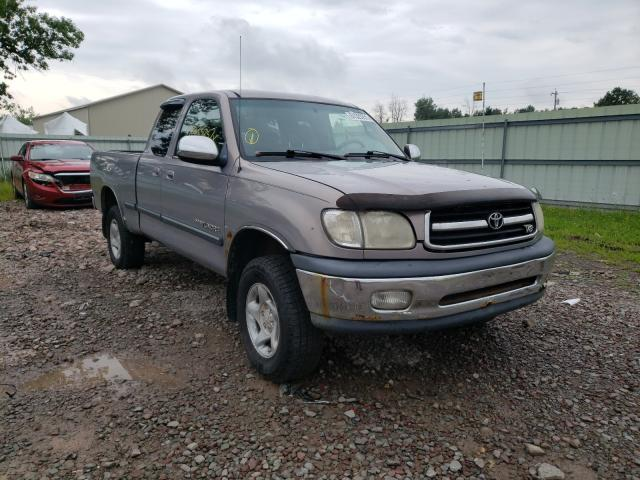 Salvage cars for sale from Copart Central Square, NY: 2000 Toyota Tundra ACC