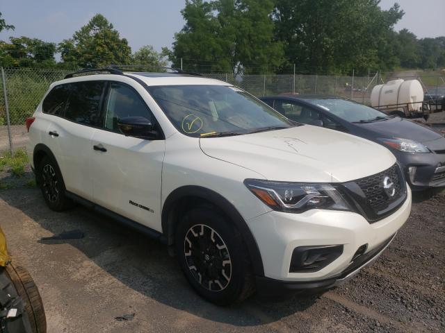 Salvage cars for sale from Copart Marlboro, NY: 2019 Nissan Pathfinder