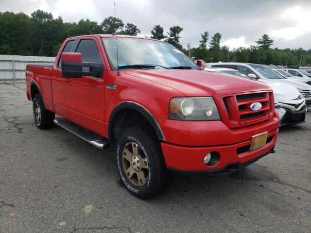 Salvage cars for sale from Copart Exeter, RI: 2007 Ford F150