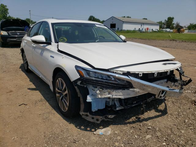 Salvage trucks for sale at Columbia Station, OH auction: 2020 Honda Accord Hybrid
