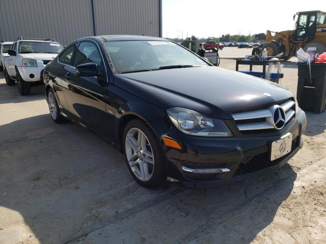 Salvage cars for sale from Copart Apopka, FL: 2012 Mercedes-Benz C 350