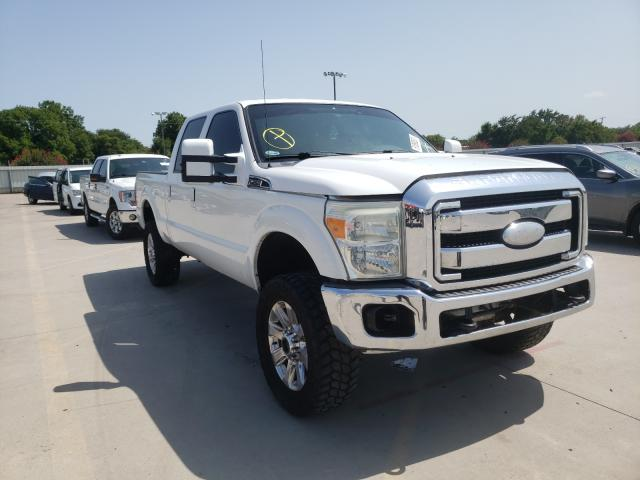 Salvage cars for sale from Copart Wilmer, TX: 2012 Ford F250 Super