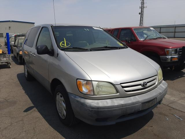 Used 2001 TOYOTA SIENNA - Small image. Lot 51480951