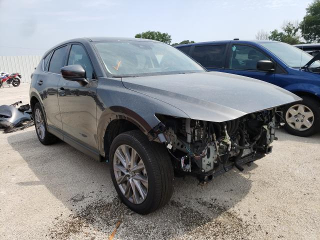 Salvage cars for sale from Copart Milwaukee, WI: 2020 Mazda CX-5 Grand Touring