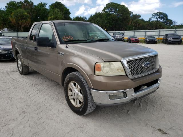 Salvage cars for sale from Copart Fort Pierce, FL: 2004 Ford F150