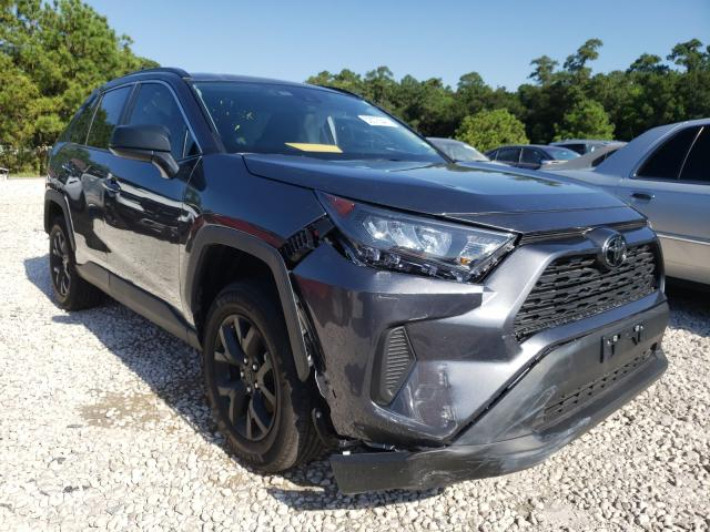 Salvage cars for sale from Copart Houston, TX: 2021 Toyota Rav4 LE