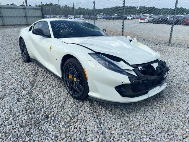 Ferrari salvage cars for sale: 2019 Ferrari 812 Superf