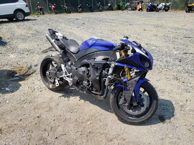 Salvage cars for sale from Copart Baltimore, MD: 2009 Yamaha YZFR1