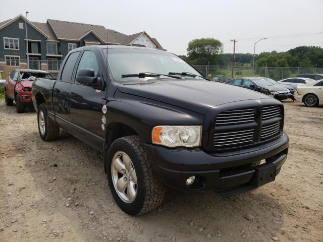 Salvage cars for sale from Copart Madison, WI: 2002 Dodge RAM 1500