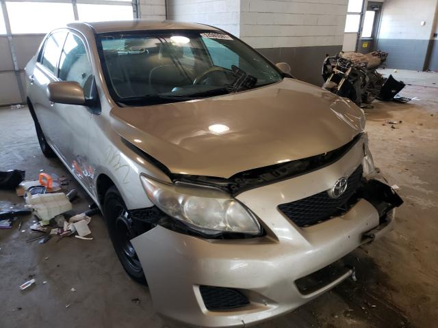 Salvage cars for sale from Copart Sandston, VA: 2009 Toyota Corolla BA