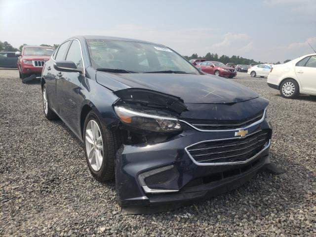 Salvage cars for sale from Copart Fredericksburg, VA: 2016 Chevrolet Malibu LT