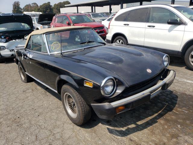 Fiat salvage cars for sale: 1977 Fiat Spider