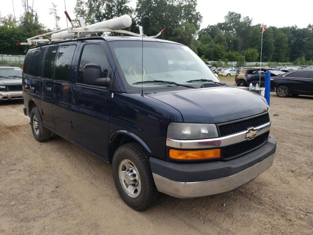 Salvage cars for sale from Copart Davison, MI: 2010 Chevrolet Express G2