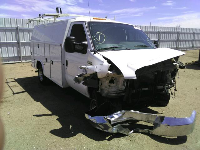 Salvage cars for sale from Copart Adelanto, CA: 2015 Ford E350
