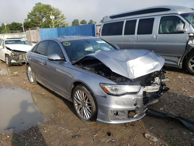 Salvage cars for sale at Florence, MS auction: 2016 Audi A6 Premium