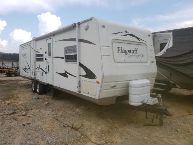 Flagstaff salvage cars for sale: 2006 Flagstaff Camper