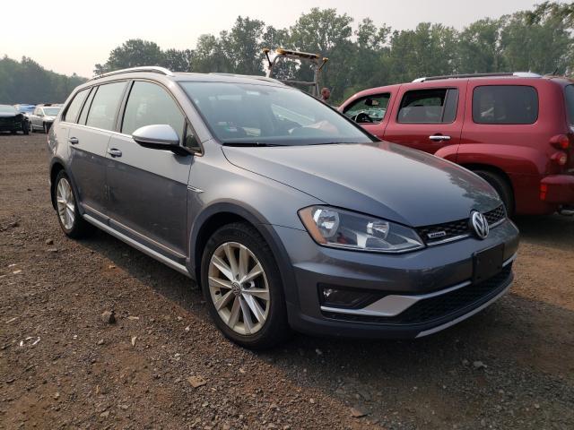Volkswagen salvage cars for sale: 2017 Volkswagen Golf Alltr