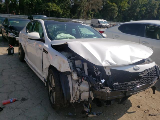Vehiculos salvage en venta de Copart Austell, GA: 2013 KIA Optima Hybrid