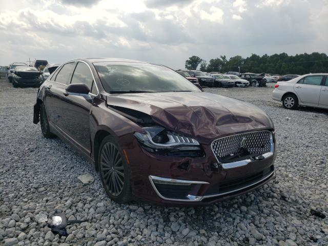 Lincoln salvage cars for sale: 2018 Lincoln MKZ Reserv