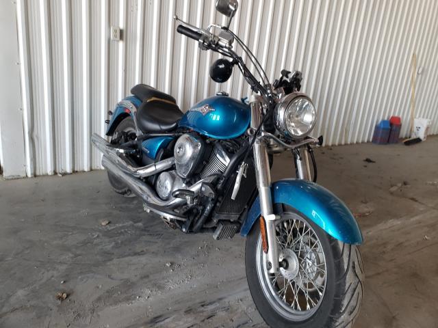 Salvage motorcycles for sale at Tulsa, OK auction: 2007 Kawasaki VN900 B