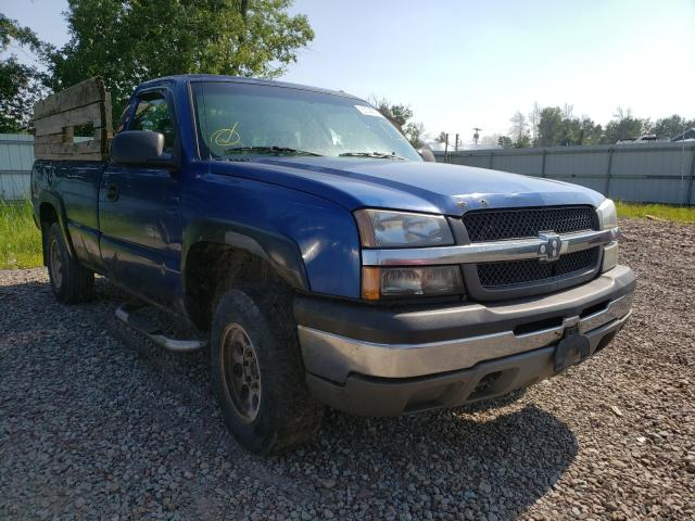 Salvage cars for sale from Copart Central Square, NY: 2003 Chevrolet Silverado