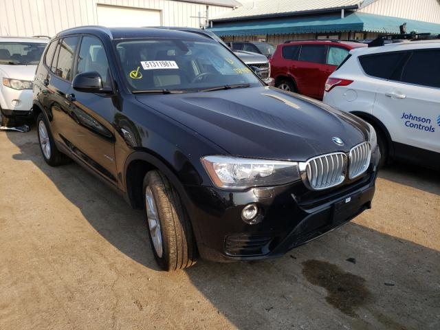 Salvage cars for sale from Copart Pekin, IL: 2016 BMW X3 XDRIVE2