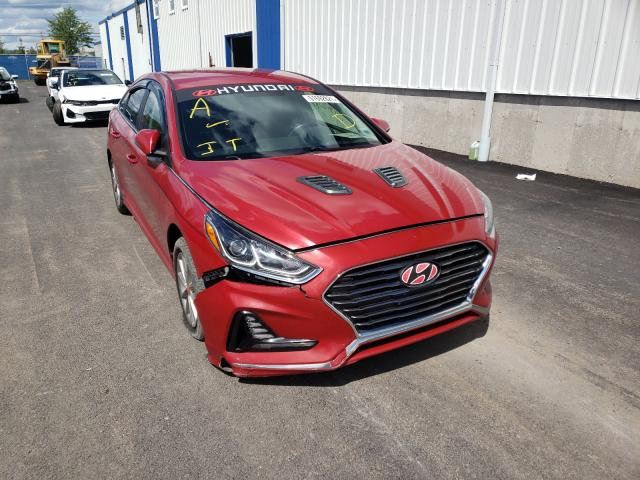 Salvage cars for sale from Copart Moncton, NB: 2018 Hyundai Sonata SE