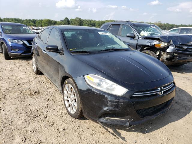 Salvage cars for sale at Conway, AR auction: 2015 Dodge Dart Limited