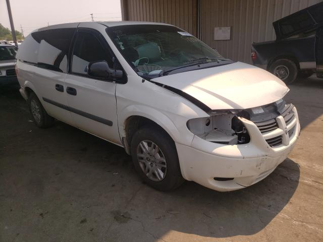 Salvage cars for sale from Copart Fort Wayne, IN: 2007 Dodge Grand Caravan