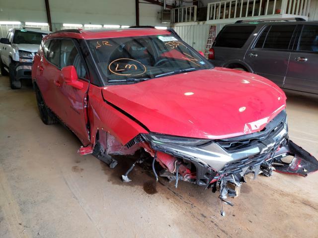Vehiculos salvage en venta de Copart Longview, TX: 2021 Chevrolet Blazer RS