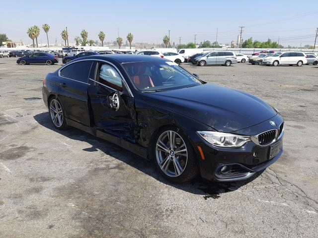 BMW 435 I Gran salvage cars for sale: 2016 BMW 435 I Gran