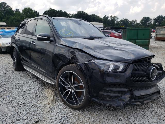 Salvage cars for sale from Copart Ellenwood, GA: 2021 Mercedes-Benz GLE 580 4M