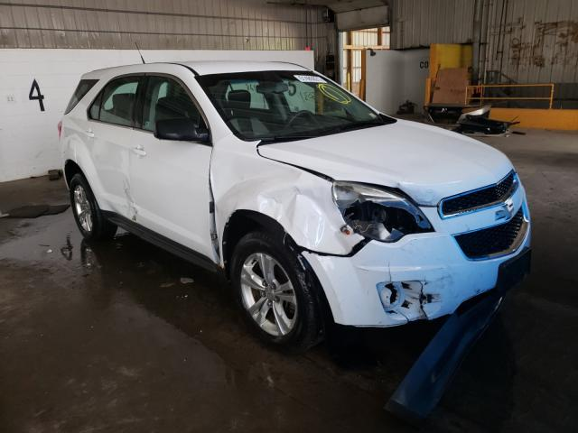 Salvage cars for sale at Candia, NH auction: 2011 Chevrolet Equinox LS