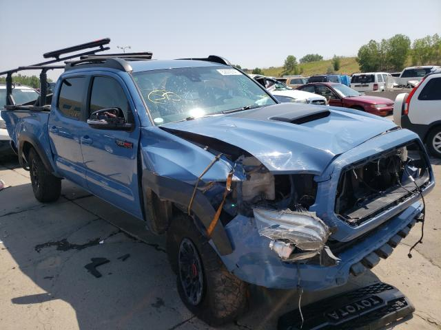 Salvage cars for sale at Littleton, CO auction: 2018 Toyota Tacoma DOU