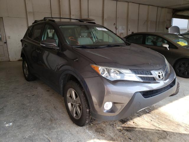 Salvage cars for sale from Copart Madisonville, TN: 2015 Toyota Rav4 XLE
