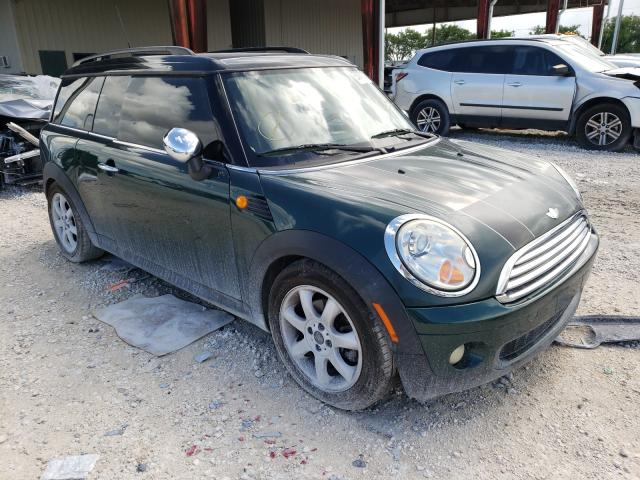 Salvage cars for sale from Copart Homestead, FL: 2010 Mini Cooper CLU