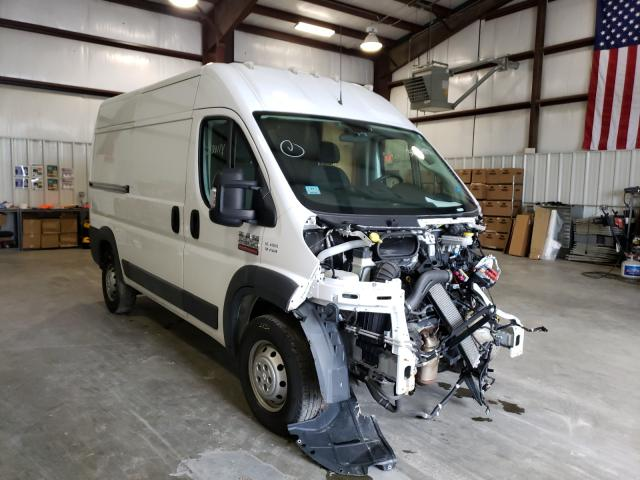 Salvage cars for sale from Copart Mendon, MA: 2017 Dodge RAM Promaster