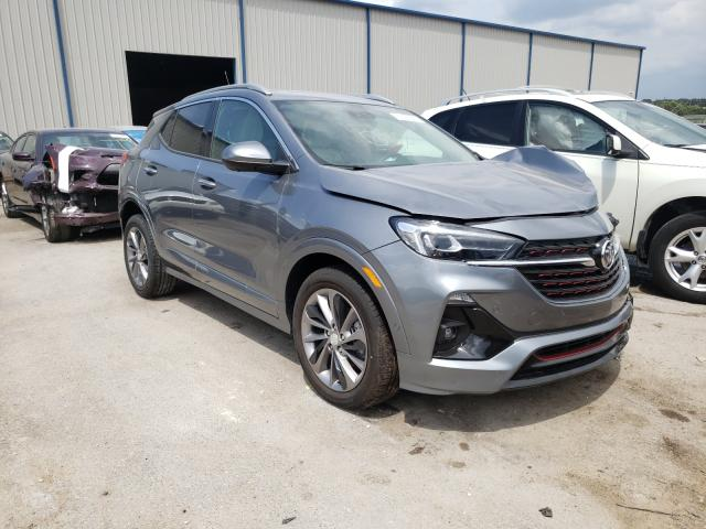 Buick Encore GX salvage cars for sale: 2020 Buick Encore GX