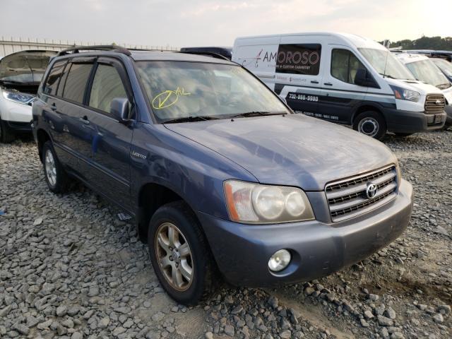 Vehiculos salvage en venta de Copart Windsor, NJ: 2002 Toyota Highlander