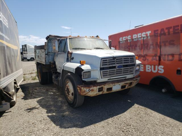 Salvage cars for sale from Copart Vallejo, CA: 1993 Ford F550