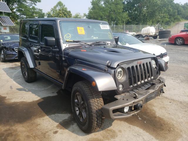 Salvage cars for sale at Marlboro, NY auction: 2016 Jeep Wrangler U